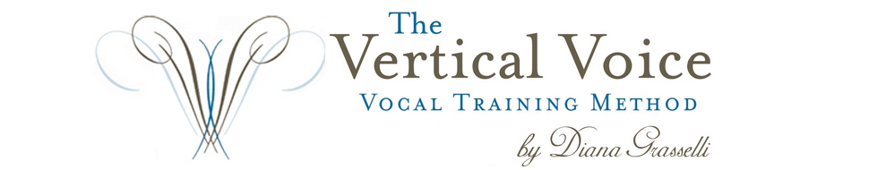 The Vertical Voice Method | Diana Grasselli | Vocal Training | Online Voice Training logo